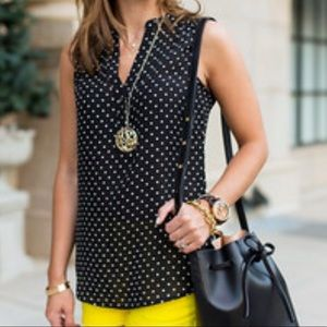 Banana Republic polka dot top